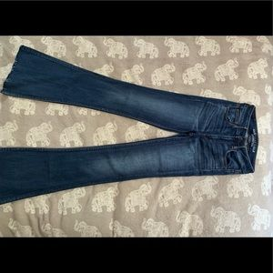 American Eagle Outfitters High Rise Flare Jean